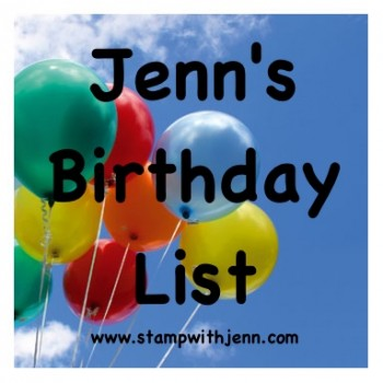Birthday list email