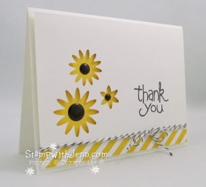 Easy spring Daisy card