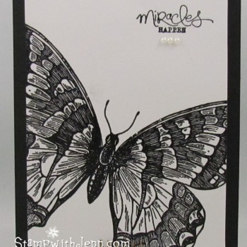 Swallowtail stamp set