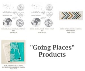 Going Places products