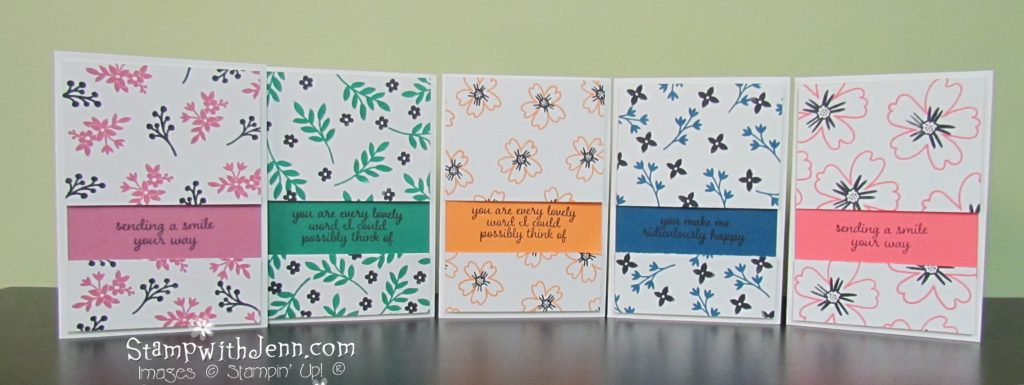 Stampin' Up 2016-2018 In Colors