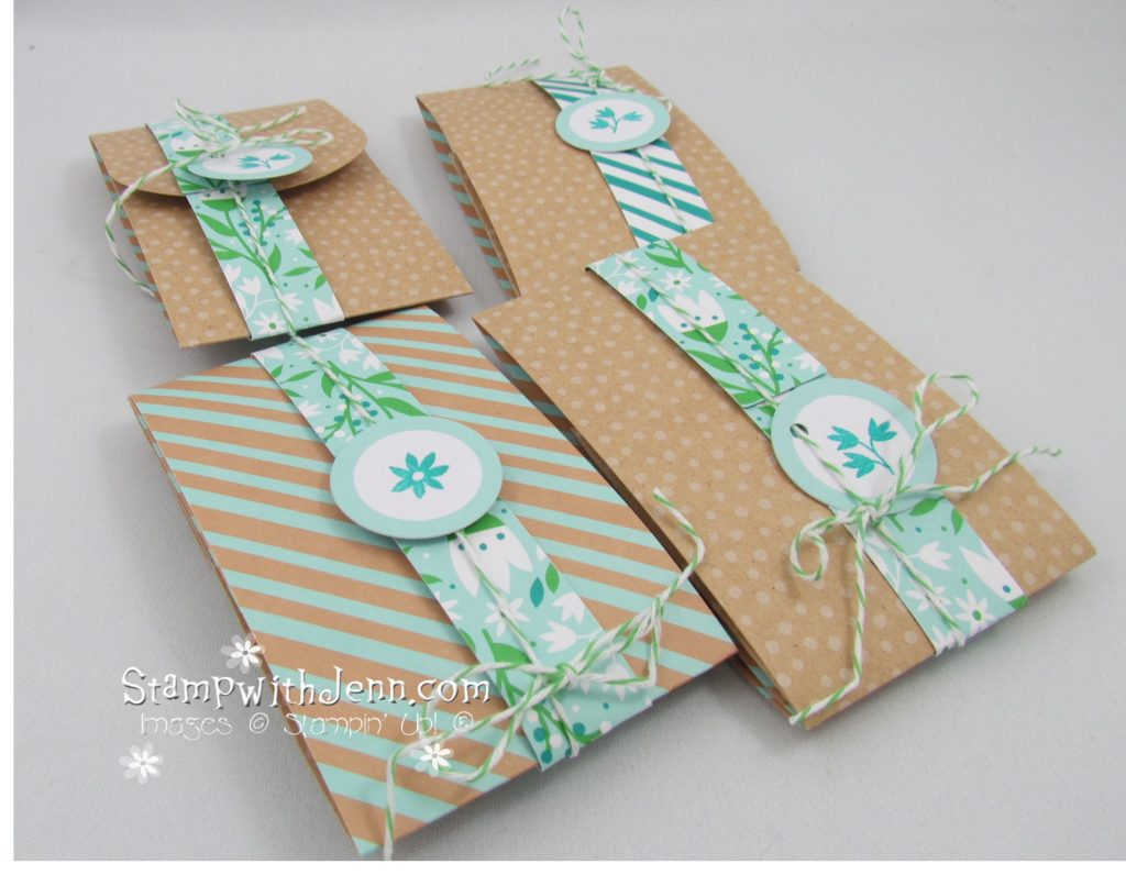March 2016 Paper Pumpkin Gift Card holders