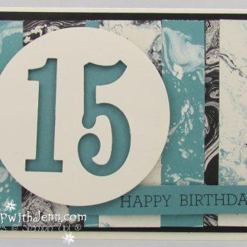 Teenage Boy Birthday card