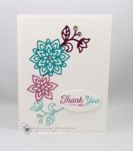 Flourish thinlits card