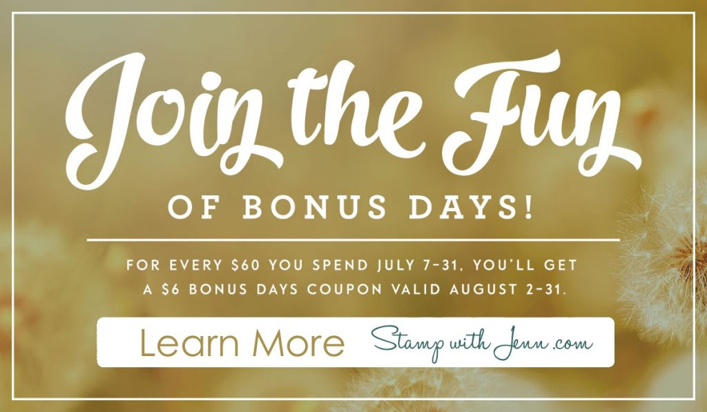 bonus days learn more stamp with jenn