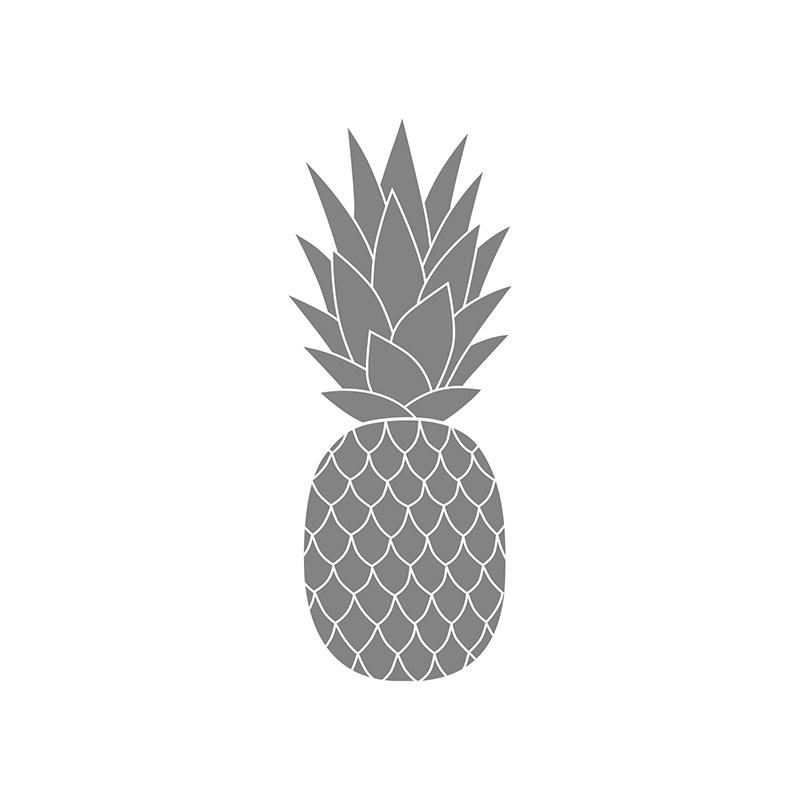 pineapple stamp set