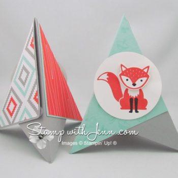 tripod card foxy friends
