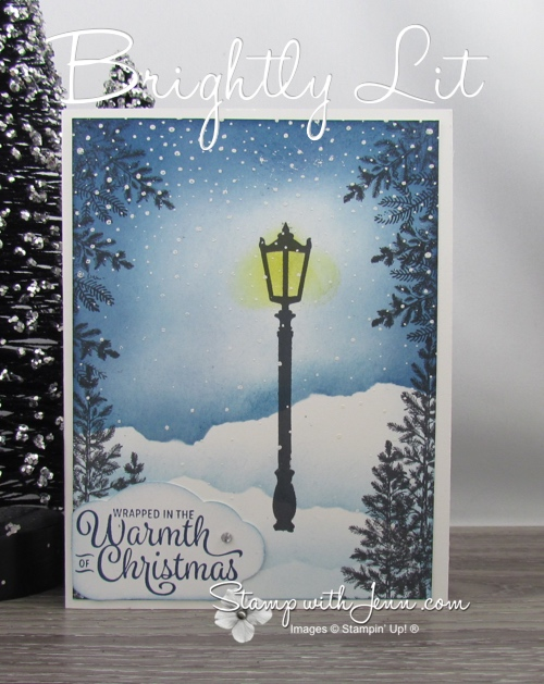 Brightly Lit Christmas Stampin Up Card Ideas 2020 Brightly Lit Christmas Card | Stamp with Jenn