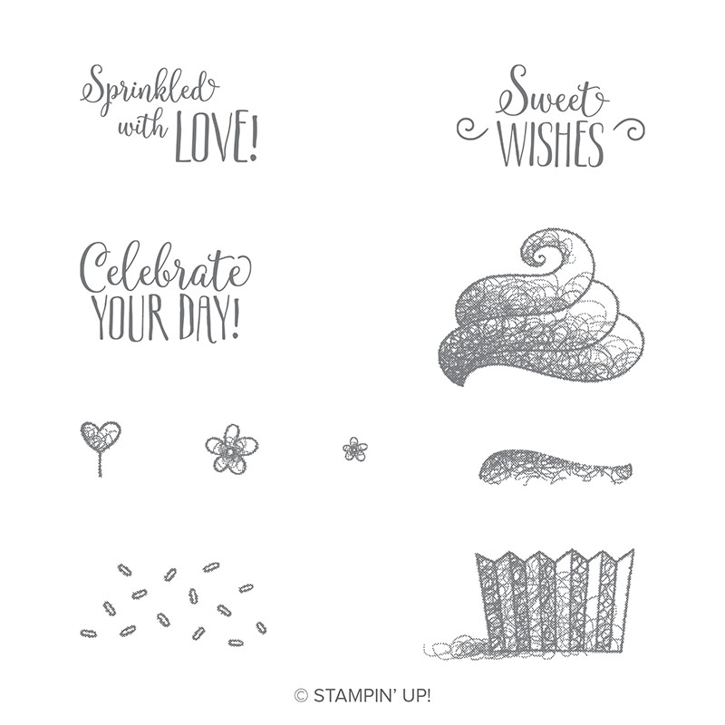 Hello Cupcake Stamp Set