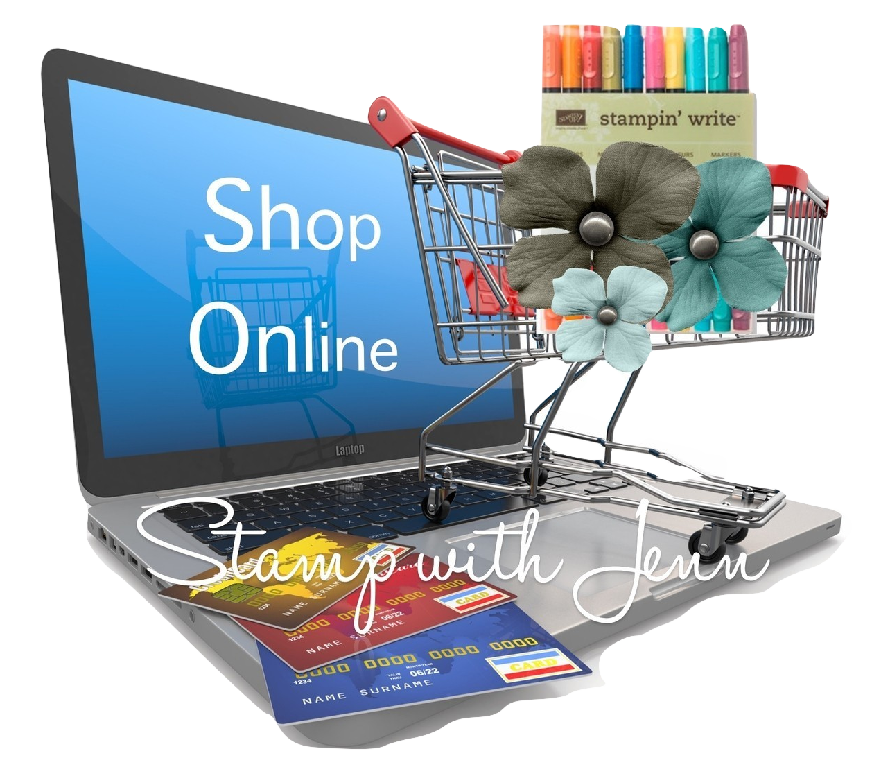 Shop Online with Stamp with Jenn