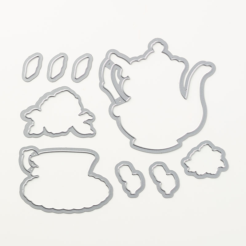 Tea Time Framelits from Stampin' Up!