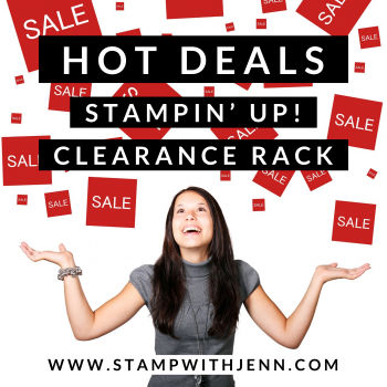 Stampin' Up Clearance Rack Sale