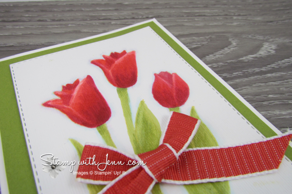 Stampin' Up! Timeless Tulips stamp set