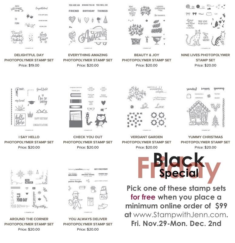 Jenn's black friday free stamp sets