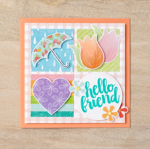 Pleased as Punch Card idea Stampin' Up! 2020