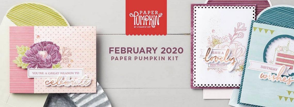 February 2020 Paper Pumpkin kit
