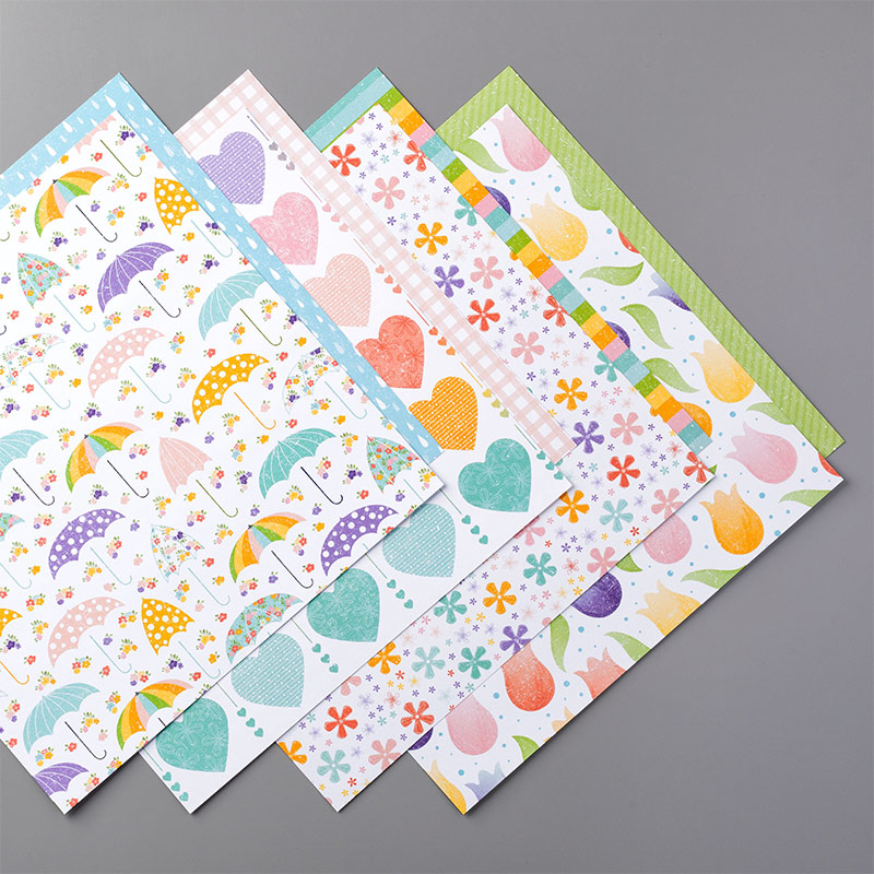 Pleased as Punched Designer Series Paper from Stampin' Up!