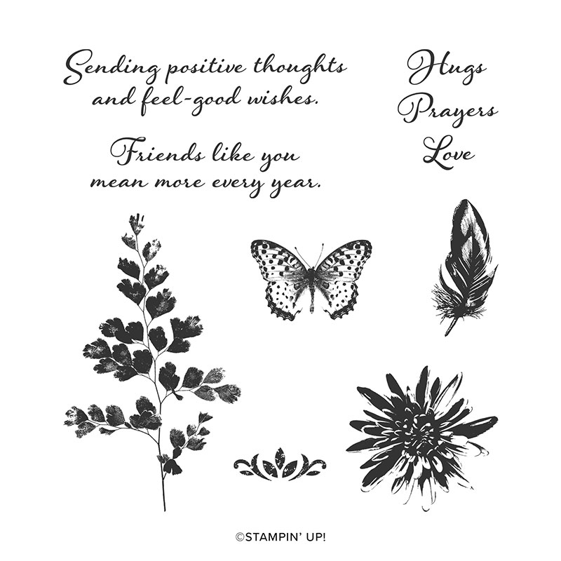 Postive stamp set from stampin' up