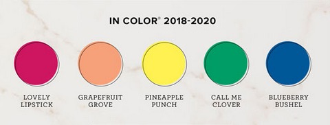 2018-2020 In colors