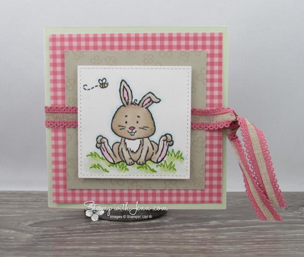 Easter Bunny Gift Card Holder