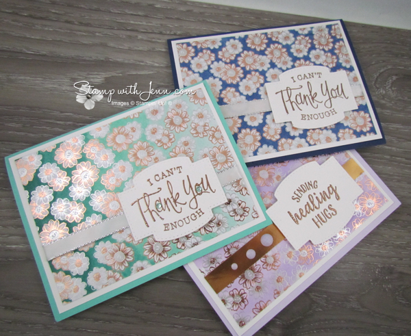 Flowering foil ideas