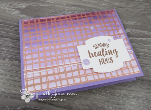 Flowering Foils card