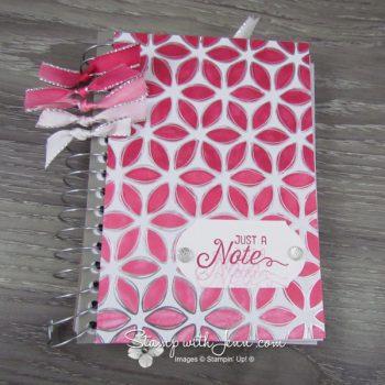 Flowering foils notebook