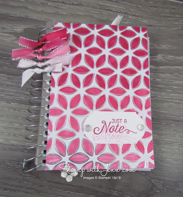 Flowering foils notebook