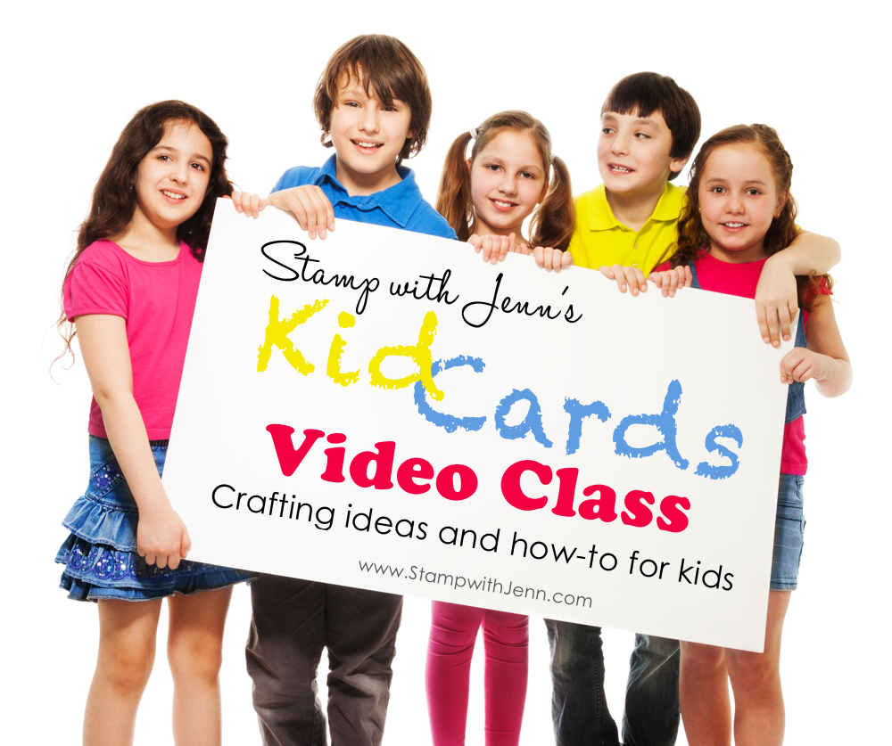 kid cards video class