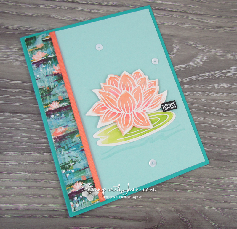 Lovely Lily Pad Stamp Set 1