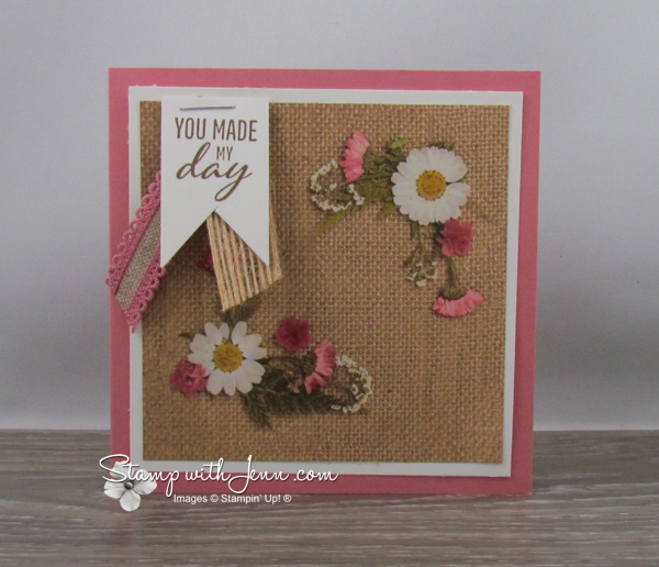 Pressed Petals Designer Series Paper for quick and easy cards