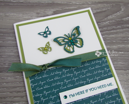 blinged up card