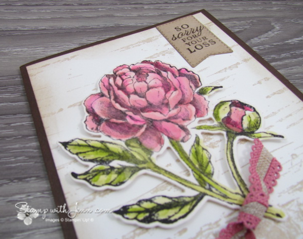 Prized Peony Stampin' Up!