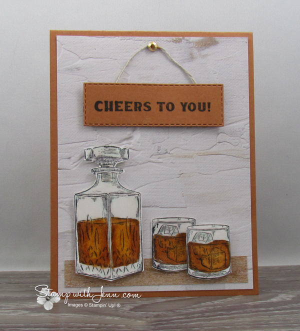 whiskey Business Stampin' Up Stamp Set