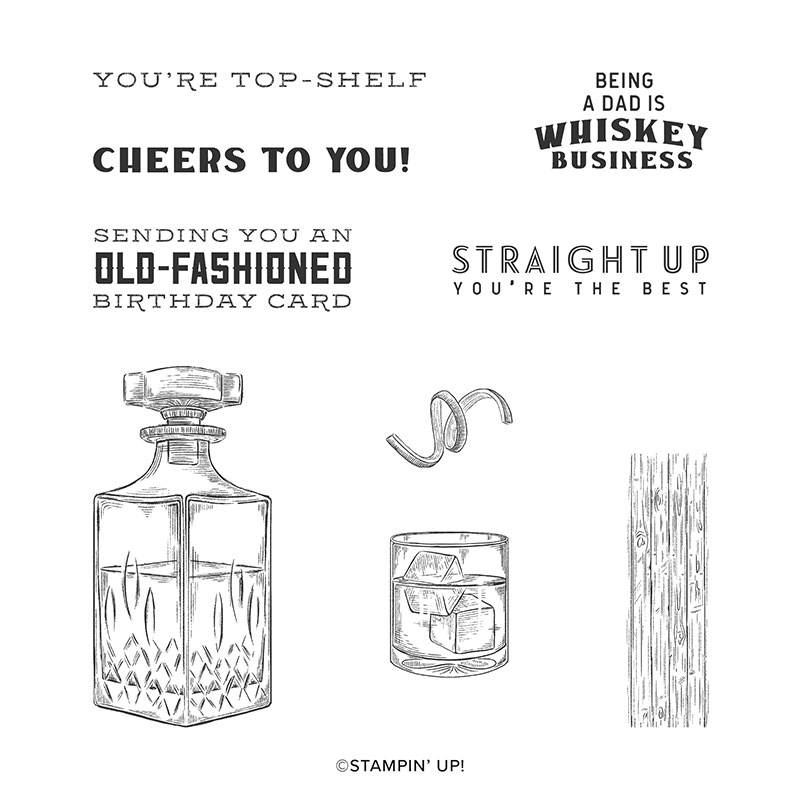 Whiskey Business Stamp set
