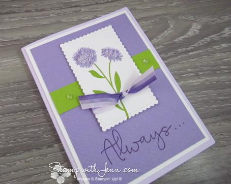 Field of Flowers purple