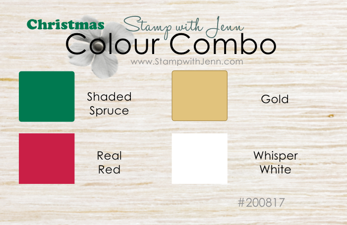 Stampin' Up! Christmas Colour Combination