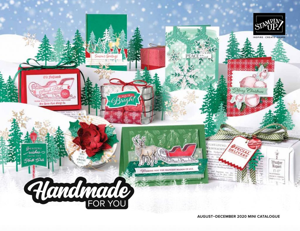 Stampin' Up! August -December 2020 catalogue