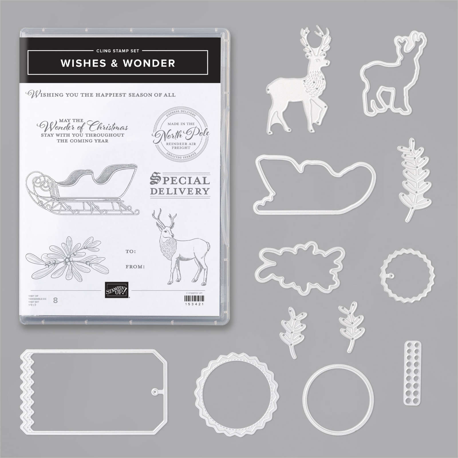 Wishes & Wonder bundle from Stampin' Up!