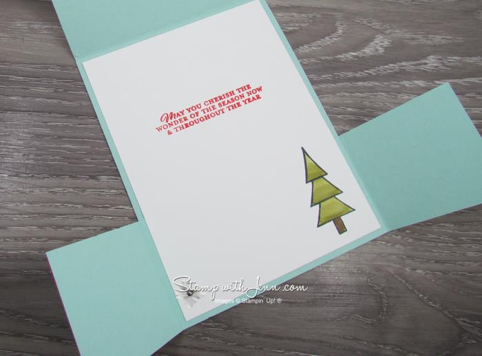 Dutch Fold Fancy Fold Card using Coming Home Bundle
