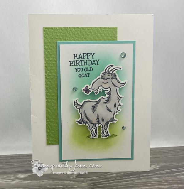 Way to Goat Stampin' Up! Stamp Set