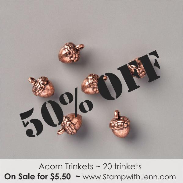 acorn trinkets on sale
