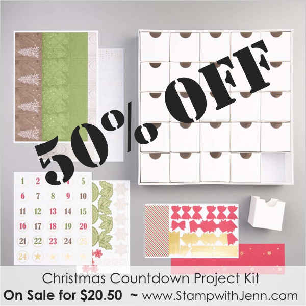 christmas count down kit on sale