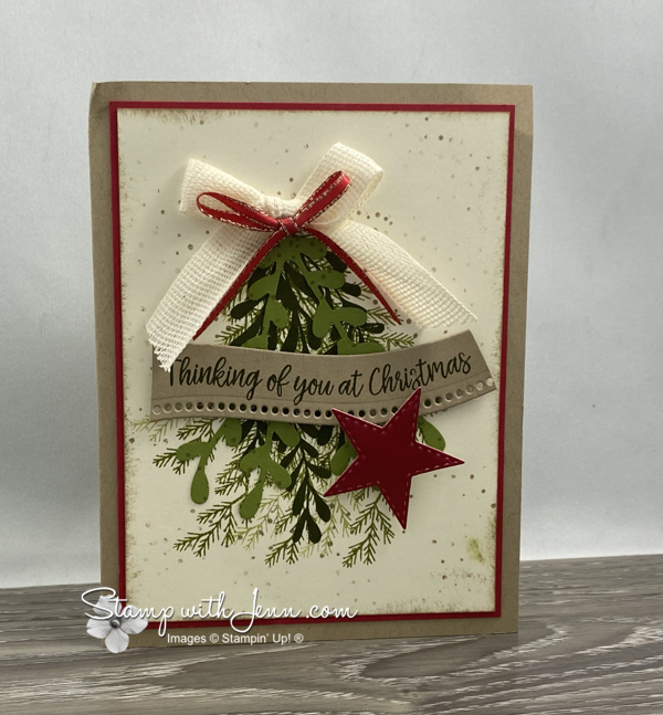 Stampin' Up! Curvy Christmas Card