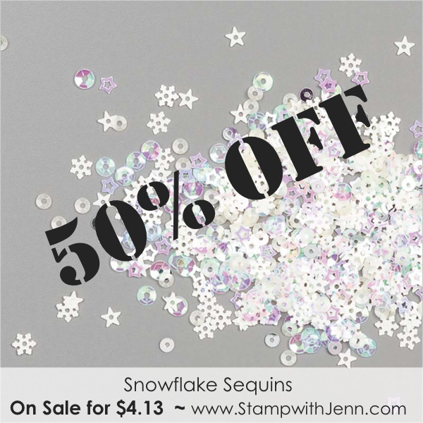 snowflake sequins on sale