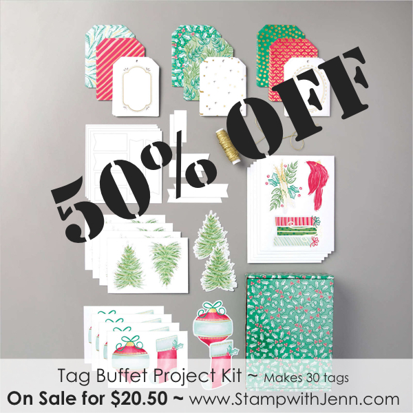 tag buffet kit on sale