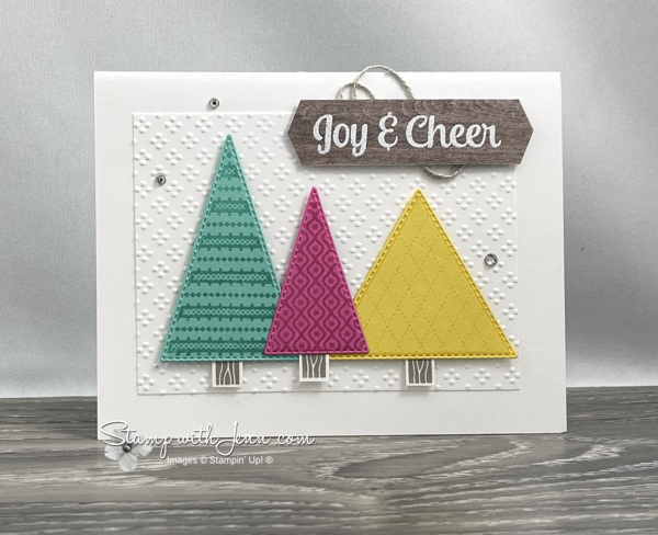 tree angle stampin' up stamp set