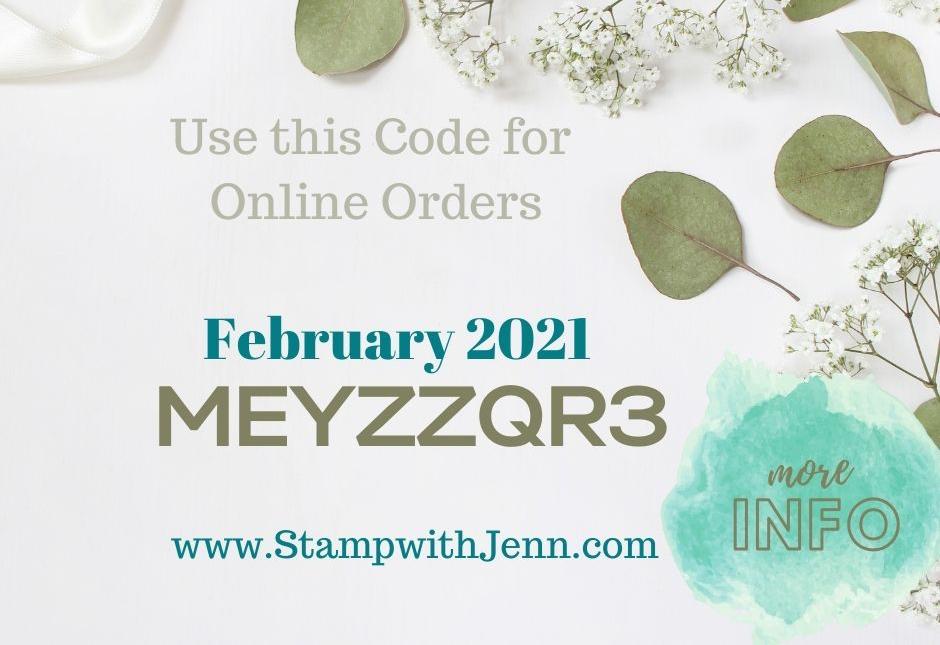 host code for February 2021