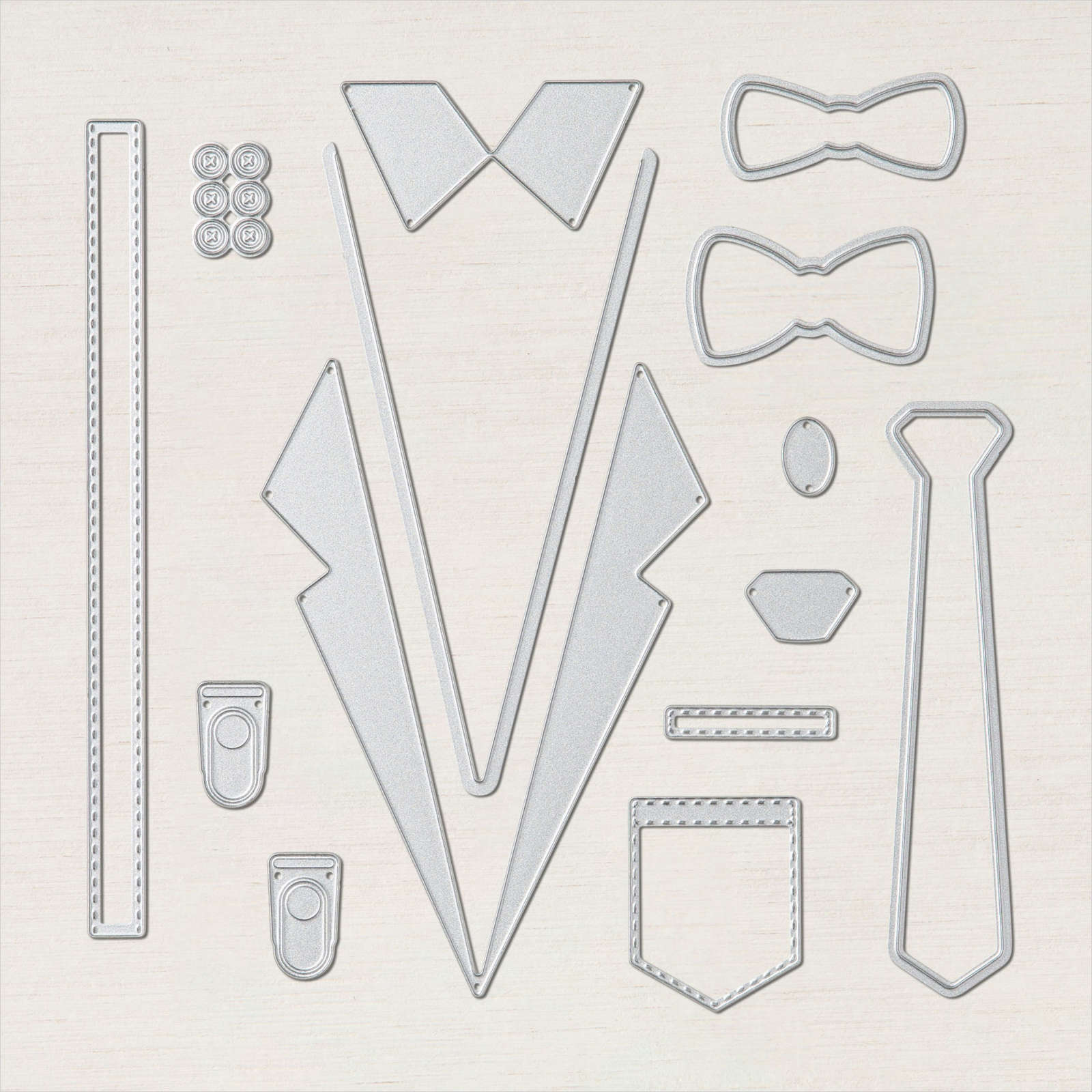 Suit & Tie Dies from Stampin' Up!