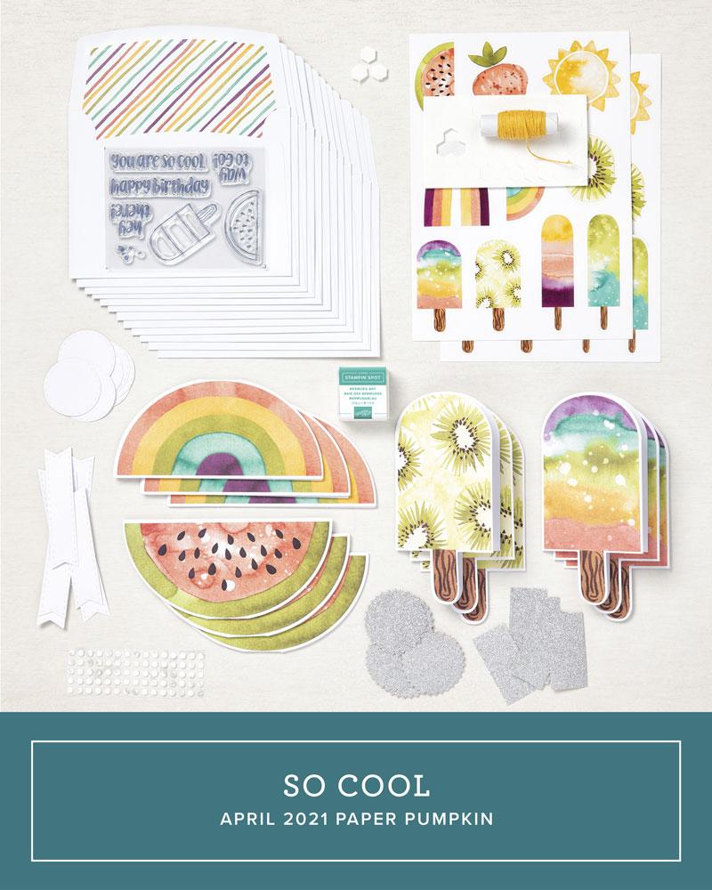 April 2021 Paper Pumpkin Kit